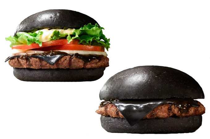 Burger King Kuro Burger